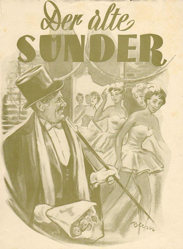 Der alte Sünder - Filmplakat